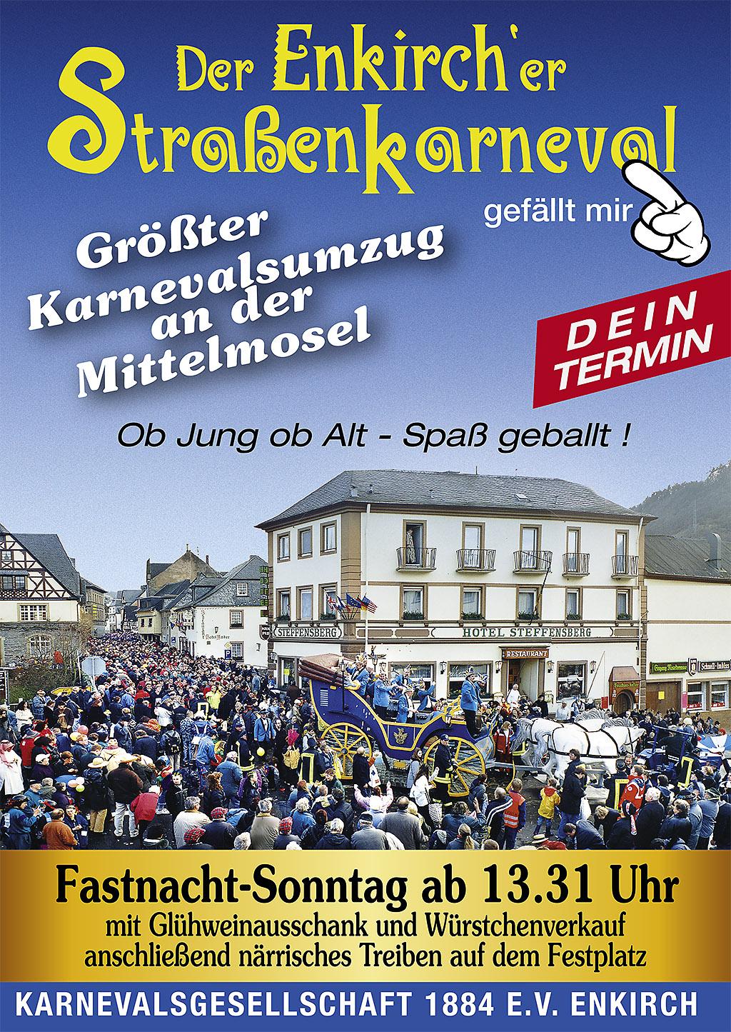 Plakat Umzug 2012